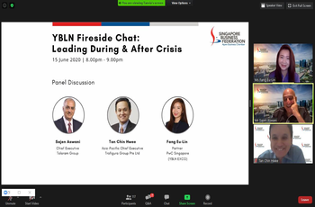 Fireside Chat: Leading During & After Crisis (15 June 2020)